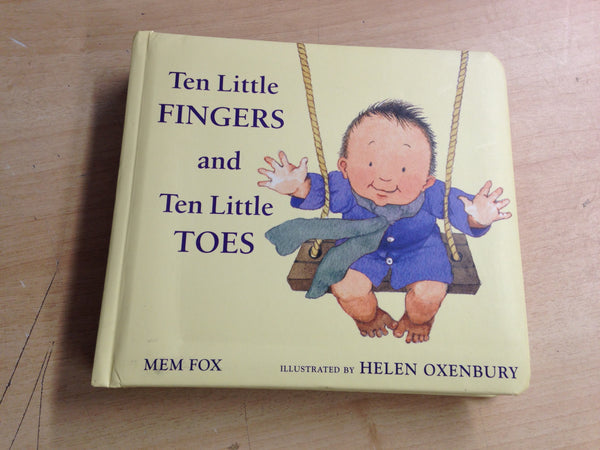 Mem Fox Ten Little Fingers And Ten Little Toes Large Toddler Board Book