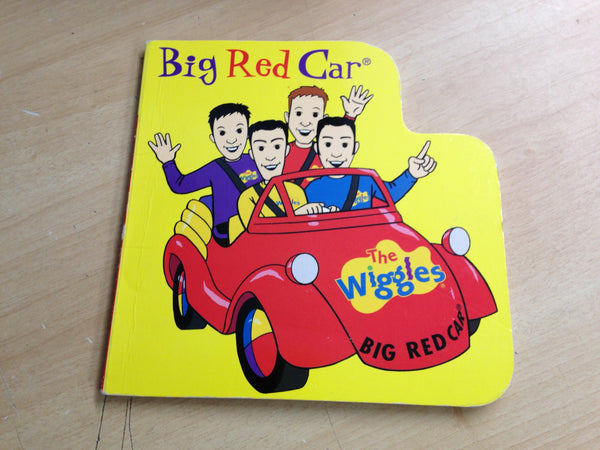 The Wiggles Big Red Car Large Toddler Board Book