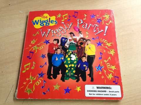 The Wiggles Wiggle Party! Large Toddler Board Book