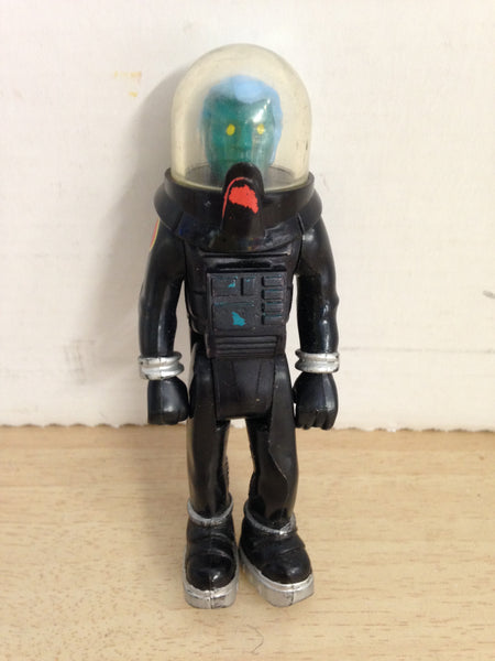 "1979 Vintage Fisher Price Adventure People Alien Black Alpha Probe Star Ship 4"" RARE"