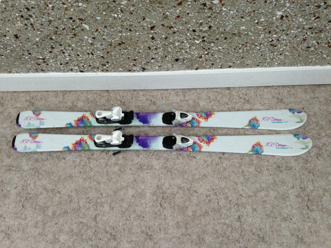 Ski 130 Tecno Pro X Dream Parabolic Purple Multi With Bindings