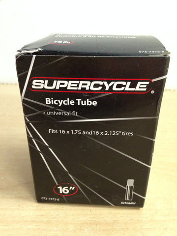 Bike Universal Inner Tube Supercycle 16 NEW in BOX
