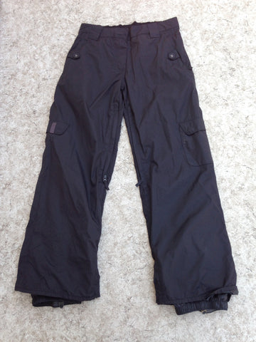 Snow Pants Ladies Size Medium Core Powder Room Black Snowboarding New Demo Model