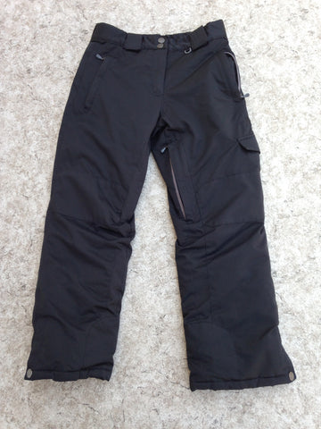 Snow Pants Child Size 12 Firefly Black Snowboarding As New