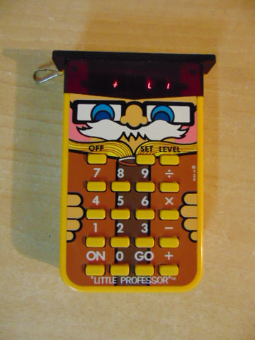 1976 Vintage Little Professor Electronic Learning Aid Works Great