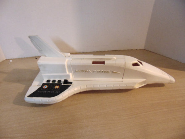 1979 Vintage Fisher Price Alpha Probe Space Ship Works Great Lights And Sounds