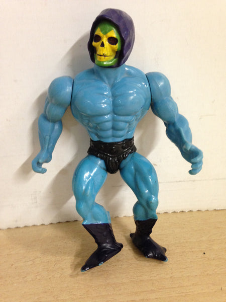 1980's Vintage He-Man Skeletor Masters Of The Universe Action Figure 6 inch