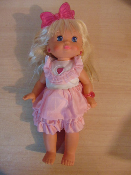 1988 Vintage PJ Sparkles 16 inch Light Up Doll Works Perfect Excellent