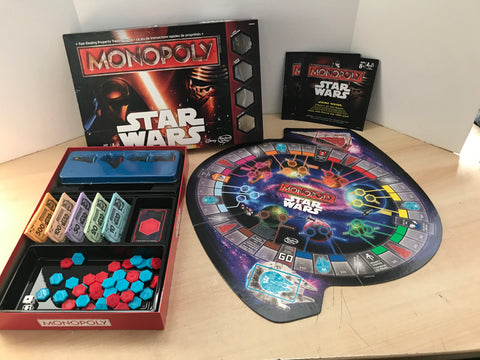 Y Game Monopoly Star Wars As New