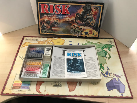 Game Risk The World Conquest Vintage 1993 Excellent Condition Complete RARE