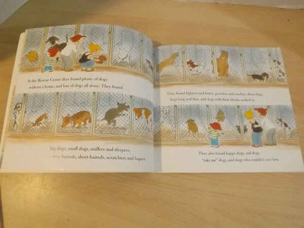 Let's Get A Pup Bob Graham Childrens Soft Cover Book  *
