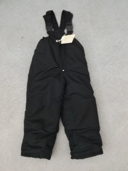 Snow Pants Child Size 4-5 PSG Tech Black Liner with bib