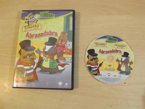DVD Movie Treehouse Timothy Goes to School Abracadabra Childrens DVD Movie