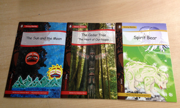 Native Indian First Nations Strong Stories Set