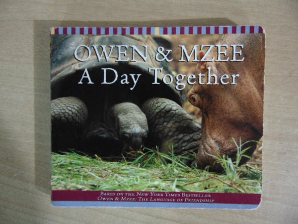 Owen & Mzee A Doy Together Toddler Board Book