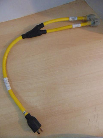 3 Foot Generator Power Cord Adapter Splitter Fantastic Quality