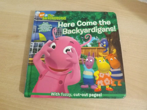 The Backyardigans Here Come the Backyardigans! Childrens Board Book
