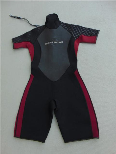 Wetsuit Ladies Size 11-12 Body Glove 2-3 mm Neoprene Black Raspberry New Demo