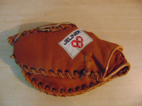 Baseball Glove Child Size 10.5-11 inch Youth Back Catchers  Leather Fits On Right Hand