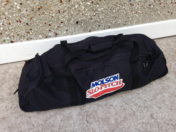 Baseball Bag Adult Bat and Gear Molson Canadian Beer RARE