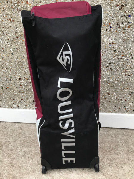 Baseball Bag Louisville Slugger Series 5 Rig Wheeled Players Bag Funtastic Sports New