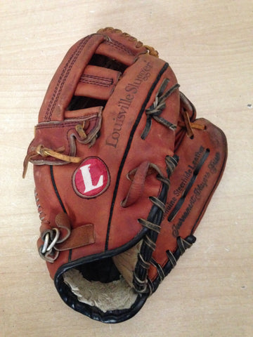 Baseball Glove Adult Size 11.5 inch Louisville TPX Brown Leather  Fits on Left Hand