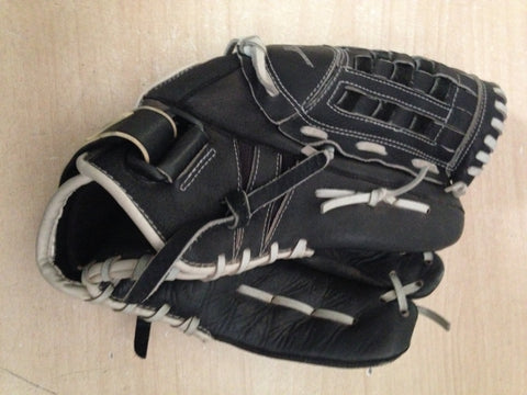 Baseball Glove Adult Size 13 inch Nike Professional  Black Soft Leather Excellent Fits on Left Hand