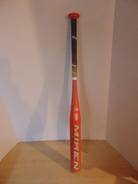 Baseball Bat 31 inch 18.5 oz Miken Halo Lite Fast Pitch USSSA Coral