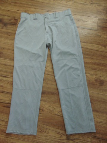 Baseball Pants Adult Size XX Large Easton Grey New Demo Model