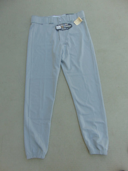 Baseball Pants Men's Size Large Easton Grey New