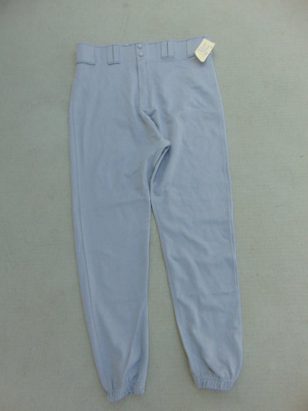 Baseball Pants Men's Size Large Easton Grey New Demo Model