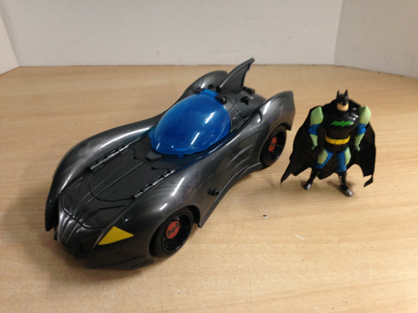 Batman Action Figure With Batmobile Excellent