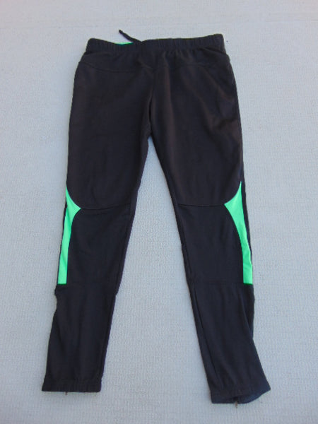 Bike Run Excersize Pants Men's Size Large Green Black Made In Germany