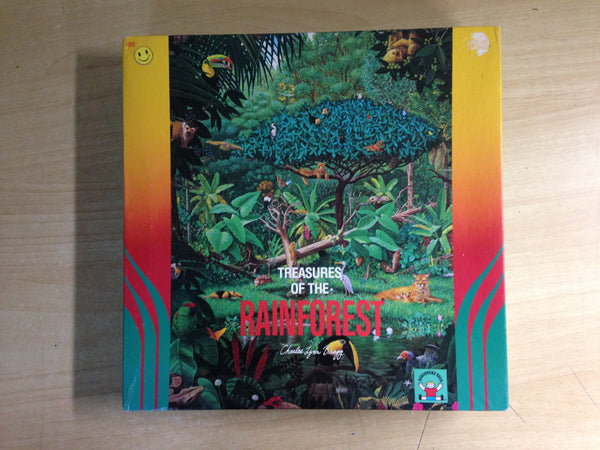 Child Jigsaw Puzzle 300 pc Discovery Toys Treasures of the Rainforest