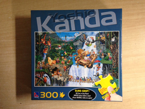 Child Jigsaw Puzzle 300 pc Yoshio Kanda In The Jungle