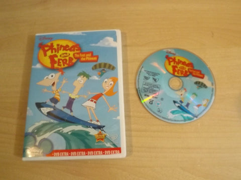 DVD Movie Disney Phineas and Ferb The Fast and the Phineas 5 Episodes Childrens DVD Movie
