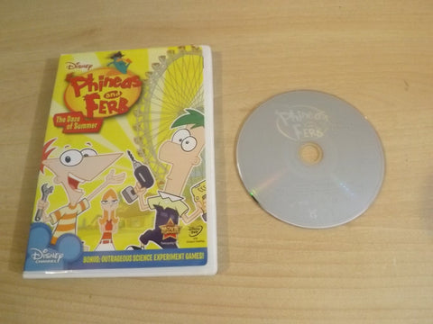 DVD Movie Disney Phineas and Ferb The Daze of Summer 5 Episodes Childrens DVD Movie