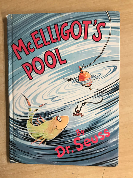 Dr. Seuss Large Vintage McElligot's Pool Hard Covered Children's Book