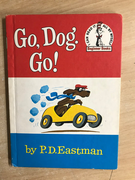 Dr. Seuss Vintage Go Dog Go Children's Book