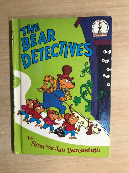 Dr. Seuss Vintage The Bear detectives Berenstain Bears Children's Book