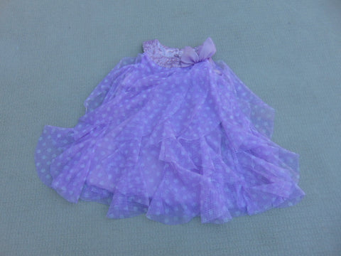 Dress Party Child Size 2 Purple Sequenses Children's Place Excellent
