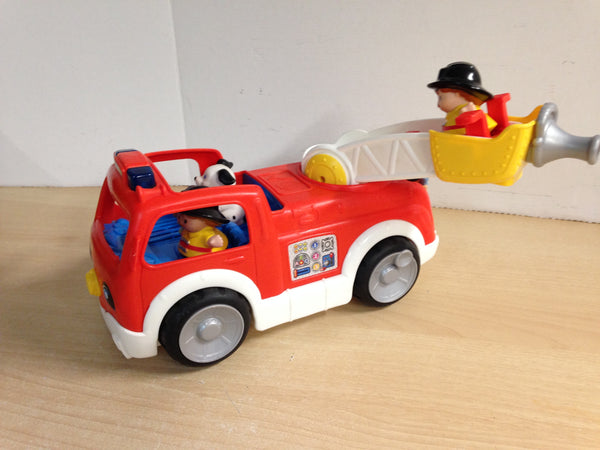 Fisher Price Little People Friends Real Sounds Fire Truck