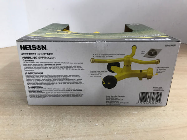 Farm and Garden Nelson Whirling Rotating Sprinkler New In Box