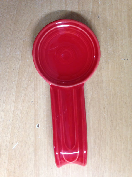 Fiesta Ware Red Spoon Rest As New Outstanding