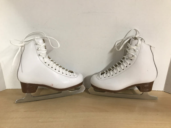 Figure Skates Child Size 1.5 Jackson Classic Leather Excellent