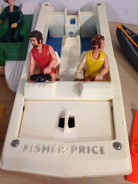 Fisher Price Vintage 1979 Adventure People Huge Collection RARE