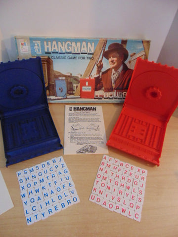 Game Hangman Vintage 1976 Mint Condition Complete RARE
