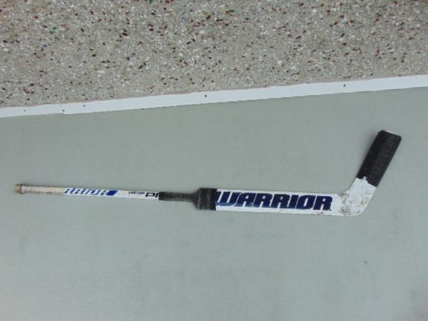 Hockey Goalie Hockey Stick WHL Player Brock Gould Victoria Royals Warrior Custom
