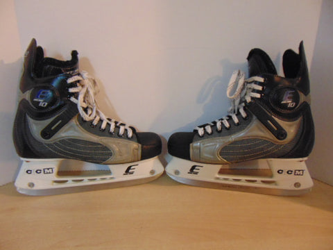 Hockey Skates Men's Size 8 Shoe Size CCM Externo Excellent