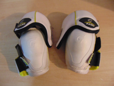 Hockey Elbow Pad Men's Size Small Graff White Lime Black Fantastic Quality
